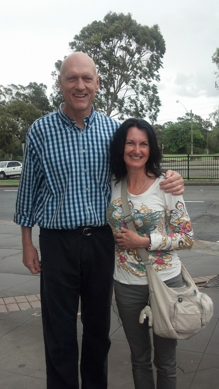 Peter Garrett meeting
